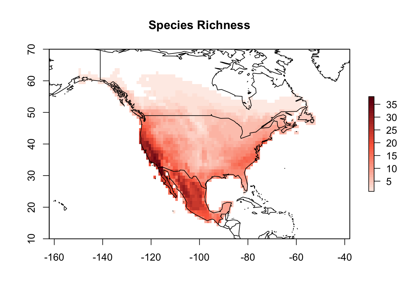 Mapping plants phylogenetic diversity - R tutorials for
